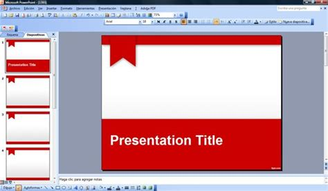 Free Red Academic Powerpoint Template Academic Presentation Powerpoint Template