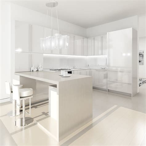 White Designer Kitchens by White Kitchens