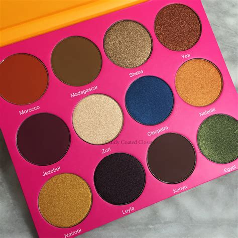Eyeshadow Juvia S Place juvia s place the nubian 2 eyeshadow palette review