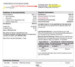 Synchrony Bank Home Design Credit Card Phone Number step 2 enter the primary account information