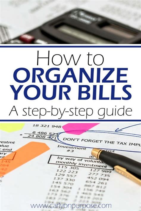 organize bills 25 best ideas about organize bills on pinterest