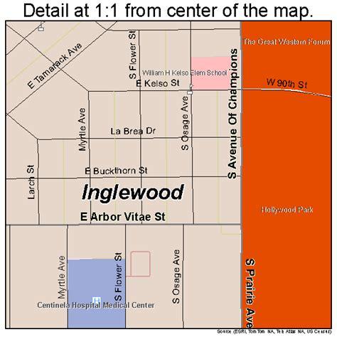 inglewood california map inglewood california map 0636546