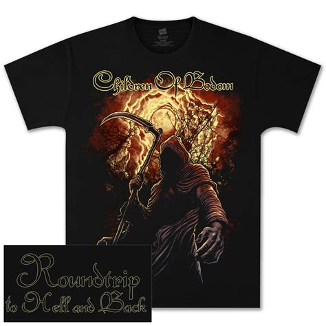 Children Of Bodom T Shirt children of bodom blood sky t shirt shop the
