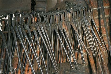 Twist Hairstyle Tools Clipart Hammer by Blacksmith Tools In Colonial Times Www Pixshark