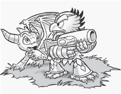 skylanders coloring pages jet vac get vac colouring pages