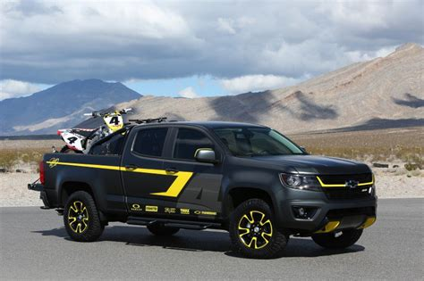 2015 chevrolet colorado performance concept unveiled at