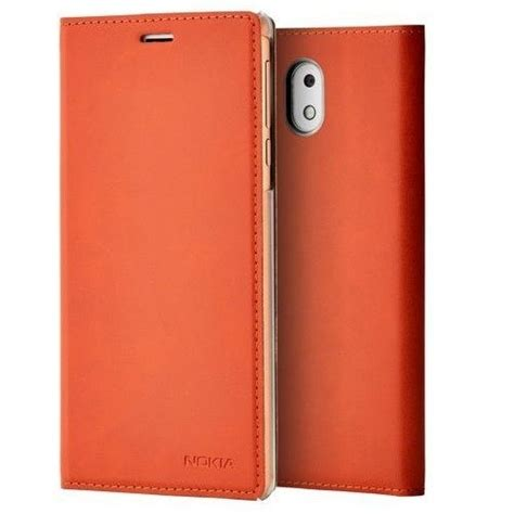 Flip Cover 3 official nokia 3 slim flip cover brown cp 303