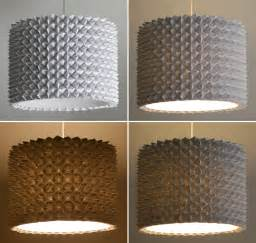 How To Make L Shades Using Paper - faceted pendant lights the large drum shade the 3 r s