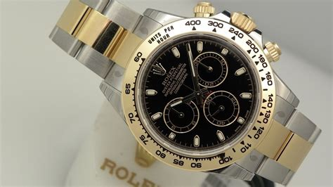Rolex Daytona Cosmograph 116503 Two Tones Yellow Gold Best Clone the of rolex daytona 116503 black two tone 40 mm steel and yellow gold luxury