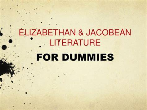 Themes Of Jacobean Literature | ppt elizabethan jacobean literature powerpoint