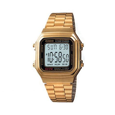 Casio Gold gold casio unisex buy gold casio unisex