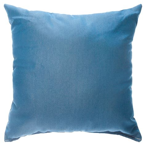 sunbrella 18 quot x18 quot square throw pillow canvas glacier