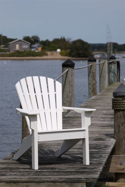 Seaside Casual Chairs by Seaside Casual Adirondack White Seaside Casual