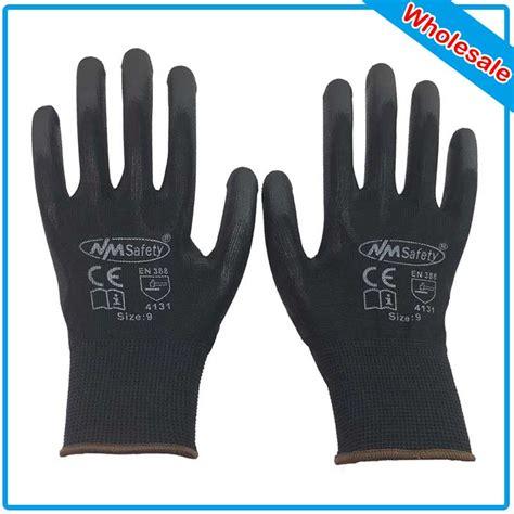 Sarung Tangan Working Gloves Kain Matahari nmsafety 240 pairs wholesale glove black polyester work safety gloves electrician safety