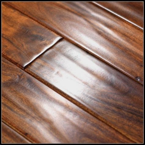 Handscraped Acacia Solid Wood Flooring manufacturers