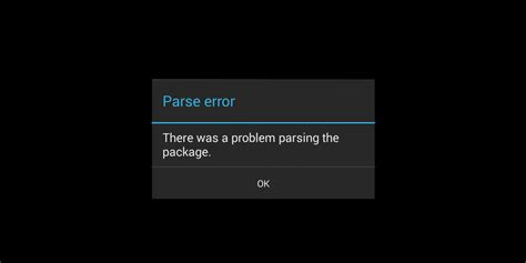apk install parse error how to fix parse error on your android device