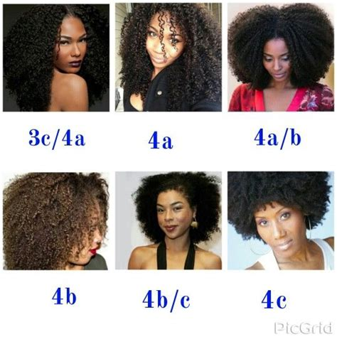 4 natural hair types chart hair type chart www pixshark com images galleries with