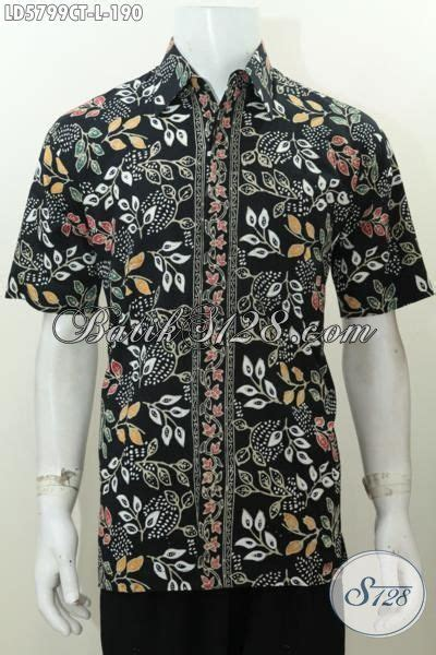desain baju batik untuk orang pendek baju kemeja batik motif terkini proses cap tulis buatan