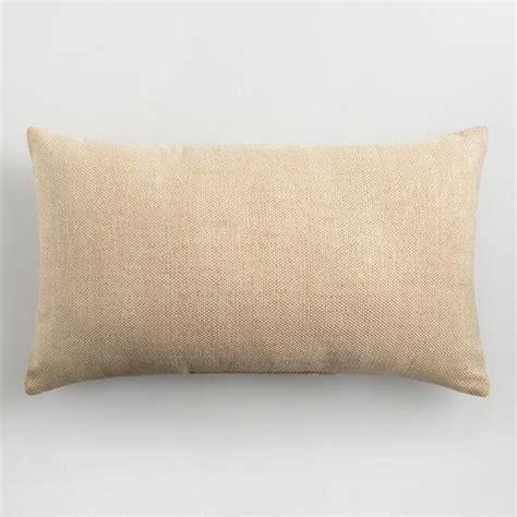 Herbal Lumbar Pillow And Gold Indoor Outdoor Lumbar Pillow World Market
