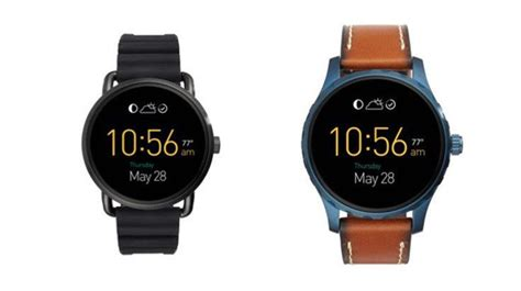 Fossil Qmarshall fossil introduces the fossil q wander and q marshal smartwatches phonesreviews uk mobiles