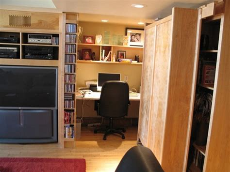 secret office office moving bookcase contemporary home