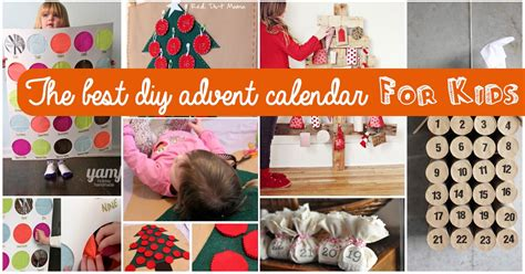 calendars for children to make top 15 ideas for the best diy advent calendar for