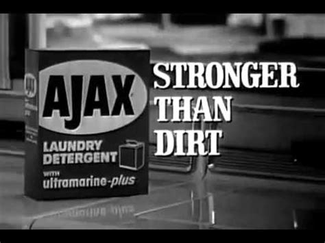 vintage 1965 ajax detergent commercial (steel city, usa