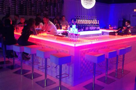Illuminated Bars by Portable Bar Pub Led Illuminated Glowing Home Indoor