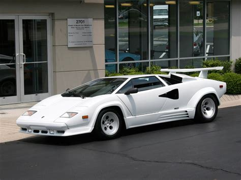 Lamborghini Countach history, photos on Better Parts LTD