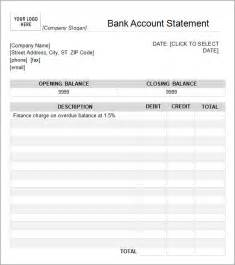 bank statement template bank statement template 13 free documents in