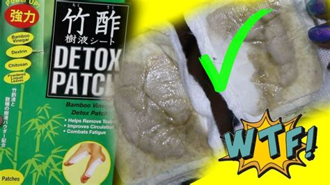 Chikusaku Bamboo Vinegar Foot Detox Patch by Detox Thru Your At Home Bamboo Vinegar Detox Foot