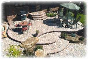 Patio Layout Design by Patio Designs Thatsmygarden