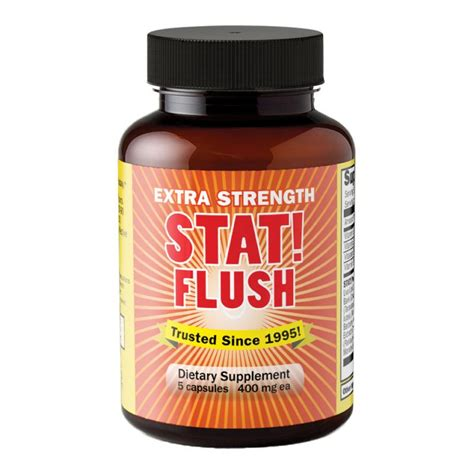 Fast Flush Detox by Fast Detox Stat Flush Detox 5 Cap And Easy To Use