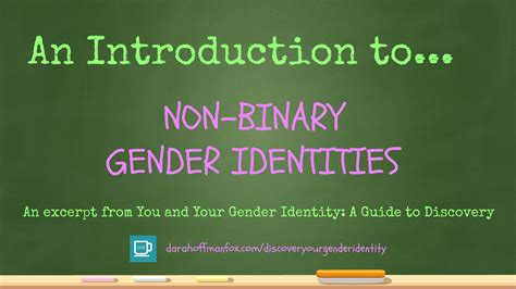 dara hoffman fox an introduction to non binary gender