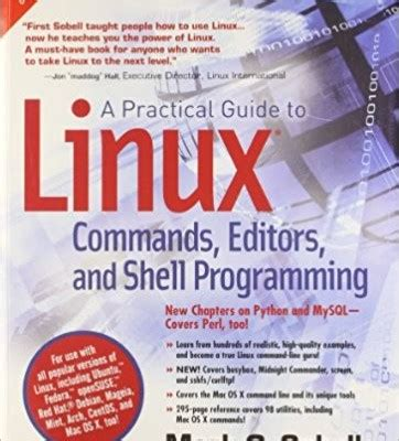 a practical guide to linux commands editors and shell programming 4th edition books a practical guide to linux commands editors and shell