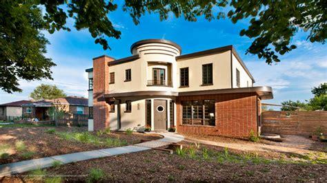 retro homes streamline modern retro house highlands denver co