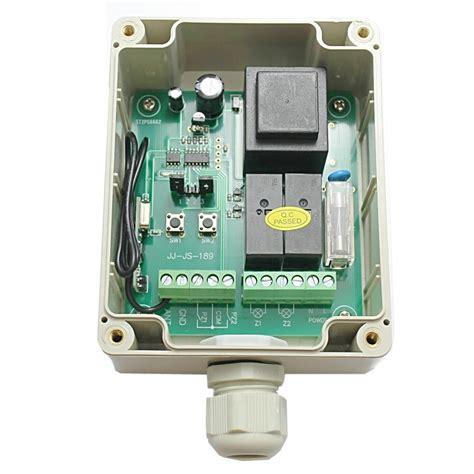 accensione luci  telecomando   canali  mhz