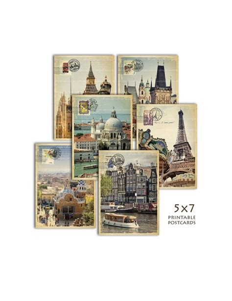 printable london postcards 17 best images about london paris new york on pinterest