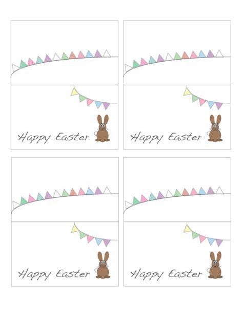 free printable easter place cards cooking up cottage