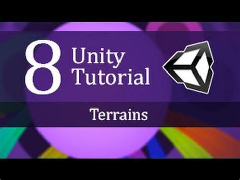 unity tutorial videos 8 unity tutorial terrains create a survival game youtube