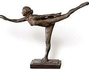 arabesque sculpture by edgar degas, licensed reproduction