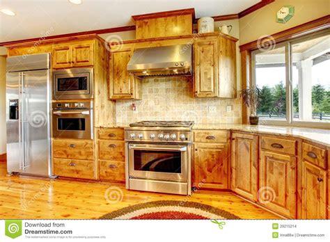 cuisine maison int 233 rieur 224 la maison de luxe en bois de cuisine maison