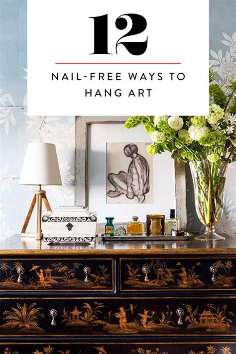 25 best ideas about hanging pictures without nails on picture frame hangers no nails hanger inspirations