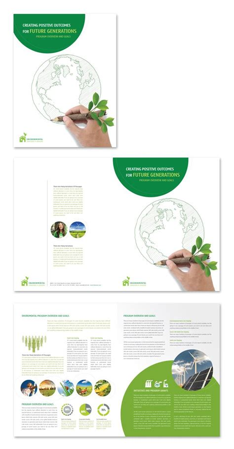 environmental protection plan template 1000 images about creative brochure templates on