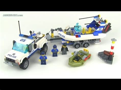 lego city 2014 police patrol 60045 set review! youtube
