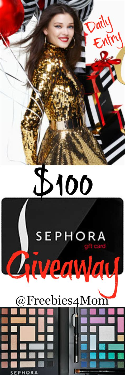 Sephora Gift Card Pin - 100 sephora gift card giveaway