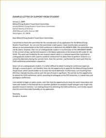 Supporting Letter For letter of support sle template learnhowtoloseweight net