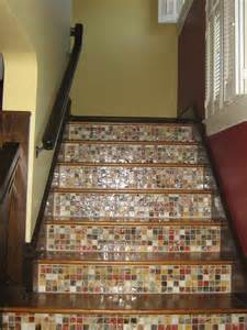 Tile Stairs Ideas apple wood construction stair ideas