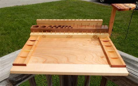 flytying    tying bench