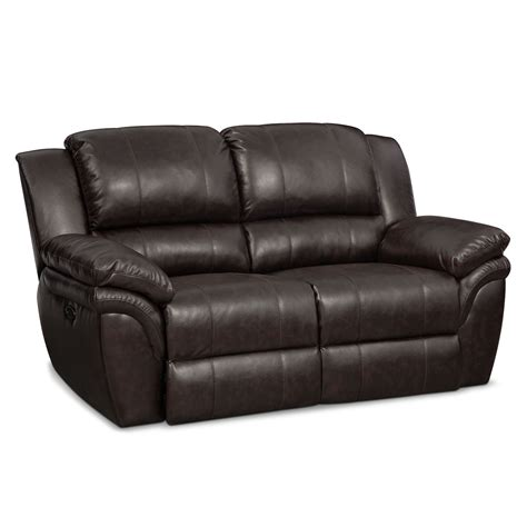 power reclining loveseats aldo power reclining loveseat brown value city